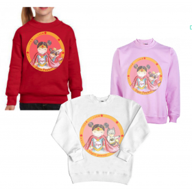 "Sudadera infantil ""Super Power"