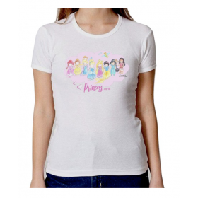 "Camiseta adulto ""Princesas"""